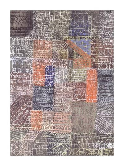 Structural II-Paul Klee-Giclee Print