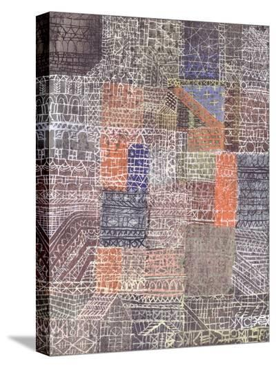 Structural II-Paul Klee-Stretched Canvas Print