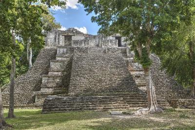 Structure 6, Kohunlich, Mayan Archaeological Site, Quintana Roo, Mexico, North America-Richard Maschmeyer-Photographic Print