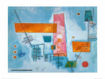 Structure Angulaire-Wassily Kandinsky-Art Print