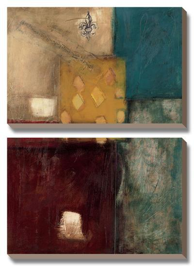 Structure II-Mary Beth Throngren-Canvas Art Set