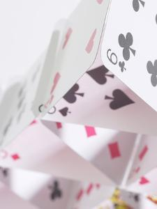 Structure Made of Playing Cards