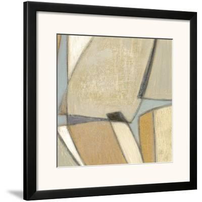Structured Abstract II-Norman Wyatt Jr^-Framed Art Print