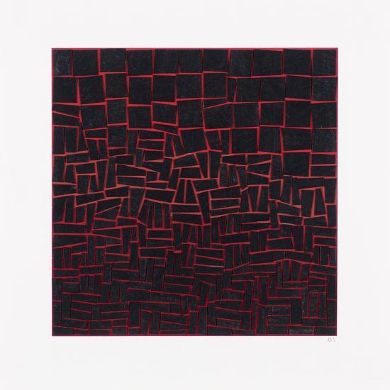 Structured Dusk-Alex Dunn-Giclee Print