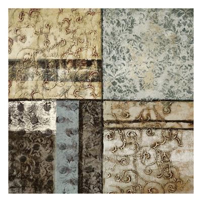 Structured Pattern II-John Kime-Premium Giclee Print
