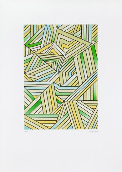 Struktur, c.2000-Ludwig Gebhard-Limited Edition
