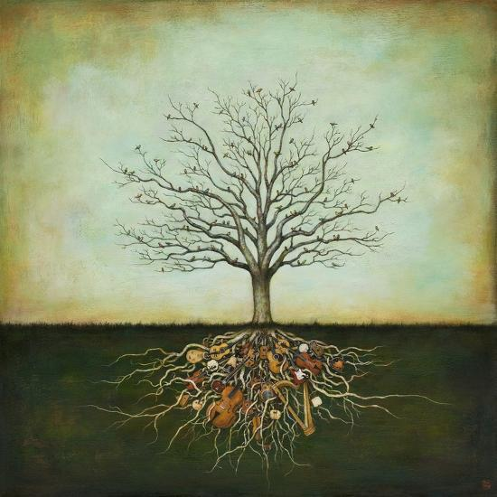 Strung Together-Duy Huynh-Premium Giclee Print