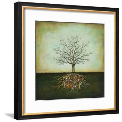 Strung Together-Duy Huynh-Framed Art Print