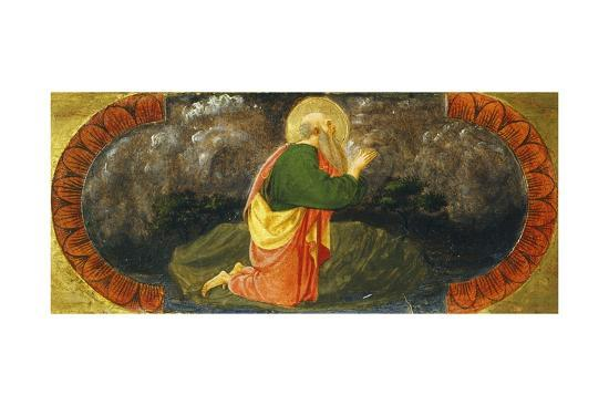 Sts John on Patmos, Detail from Right Side of Quarate Predella-Paolo Uccello-Giclee Print