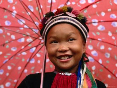 Ethnic Dao Lantien Girl from Mountainous Northern Vietnam, Tam Duong, Lao Cai, Vietnam