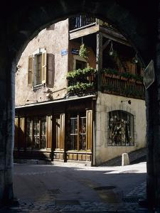 Archway in the Old Town, Annecy, Lake Annecy, Rhone Alpes, France, Europe by Stuart Black