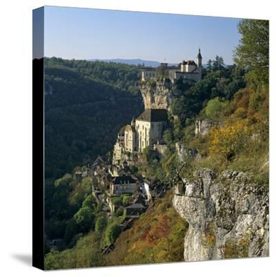 Autumnal View, Rocamadour, Lot, Midi-Pyrenees, France, Europe