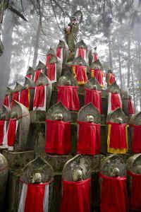Buddhist Cemetery of Oku-No-In, Koyasan (Koya-San), Kansai, Japan by Stuart Black