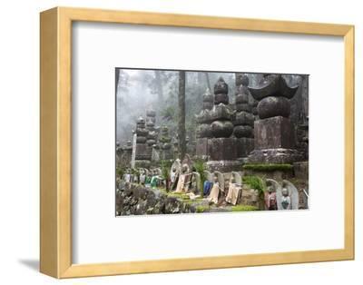 Buddhist Cemetery of Oku-No-In, Koyasan (Koya-San), Kansai, Japan