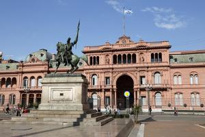 Casa Rosada in Plaza de Mayo, Buenos Aires, Argentina, South America by Stuart Black