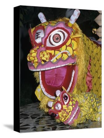 Chinese Dragon Dance at Chinese New Year Celebrations, Vietnam, Indochina, Southeast Asia, Asia