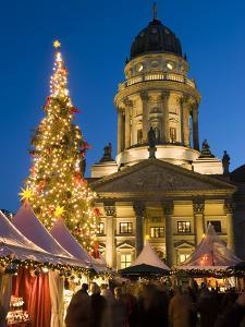 Christmas Market, Gendarmenmarkt, Berlin, Germany, Europe by Stuart Black