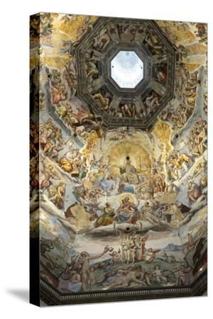 Dome Fresco of the Last Judgement by Giorgio Vasari and Federico Zuccari Inside the Duomo
