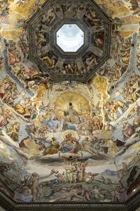 Dome Fresco of the Last Judgement by Giorgio Vasari and Federico Zuccari Inside the Duomo by Stuart Black