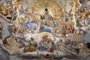 Dome Fresco of the Last Judgement by Stuart Black