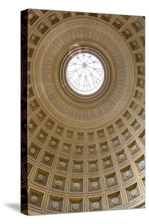 Dome of the Sala Rotonda in the Vatican Museum, Vatican City, Rome, Lazio, Italy