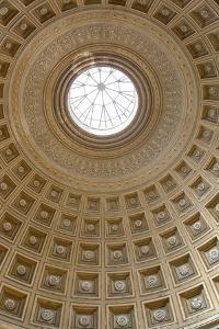 Dome of the Sala Rotonda in the Vatican Museum, Vatican City, Rome, Lazio, Italy by Stuart Black