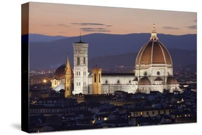 Duomo at Night from Piazza Michelangelo, Florencetuscany, Italy, Europe