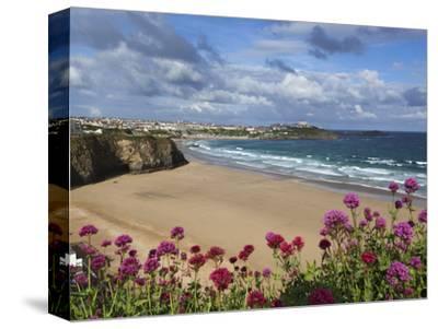 Great Western Beach, Newquay, Cornwall, England