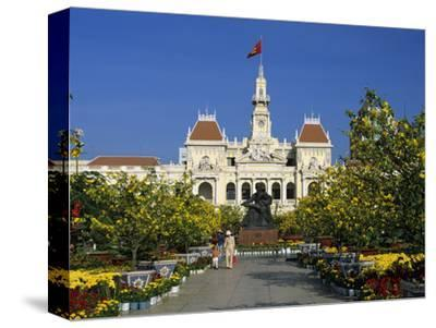 Hotel De Ville (Ho Chi Minh City Hall) Decorated for Chinese New Year, Ho Chi Minh City (Saigon), V