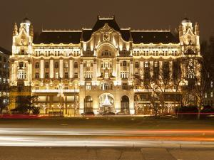 Hotel Gresham Palace, Roosevelt Ter, Budapest, Hungary, Europe by Stuart Black