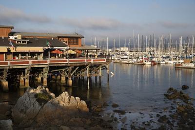 Monterey Docks and Fisherman's Wharf Restaurants