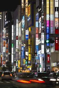 Neon Signs in Shinjuku Area, Tokyo, Japan, Asia by Stuart Black