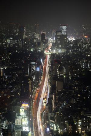 Night View of Tokyo from Tokyo City View Observation Deck, Roppongi Hills, Tokyo, Japan by Stuart Black