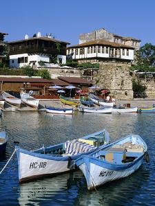 Old Town and Fishing Harbour, Nesebur (Nessebar), Black Sea Coast, Bulgaria, Europe by Stuart Black