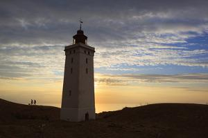 Rubjerg Knude Fyr (Lighthouse) Buried by Sand Drift, Lokken, Jutland, Denmark, Scandinavia, Europe by Stuart Black