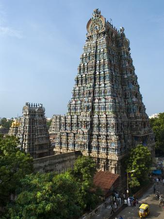 Sri Meenakshi Sundareshwara Temple, Madurai, Tamil Nadu, India, Asia