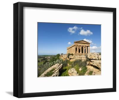 Tempio Di Concordia (Concord), Valle Dei Templi, UNESCO World Heritage Site, Agrigento, Sicily, Ita