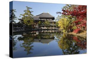 The Buddhist Temple of Topdai-Ji, Nara, Kansai, Japan by Stuart Black