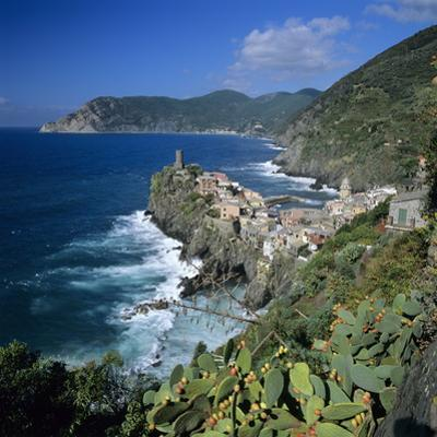 View of the Cinque Terre Village of Vernazza by Stuart Black