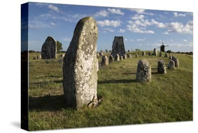 Viking Stone Ship Burial Ground of Gettlinge and Windmill, Sweden