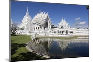 Wat Rong Khun (White Temple), Chiang Rai, Northern Thailand, Thailand, Southeast Asia, Asia by Stuart Black