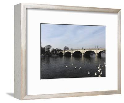 Kingston Bridge Spans the River Thames at Kingston-Upon-Thames, a Suburb of London, England, United