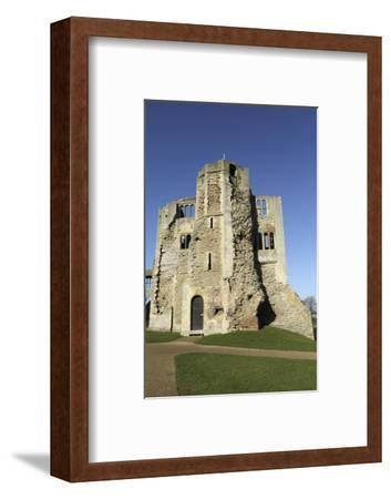 The Norman Gateway and Staircase Tower at the Ruins of Newark Castle in Newark-Upon-Trent