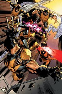 All-New X-Men #10 Featuring Wolverine, Cyclops, Jean Grey, Beast, Iceman, Angel by Stuart Immonen