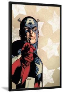 New Avengers No.61 Cover: Captain America by Stuart Immonen