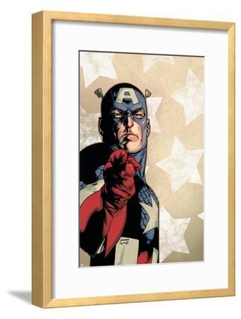New Avengers No.61 Cover: Captain America