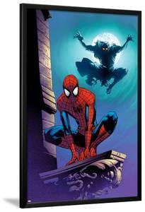 Ultimate Spider-Man No.112 Cover: Spider-Man and Green Goblin by Stuart Immonen