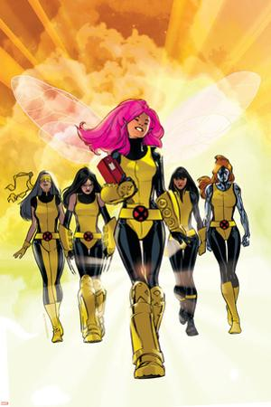 X-Men: Pixie Strikes Back No.1 Cover: Pixie, X-23, Blindfold, Armor and Mercury by Stuart Immonen