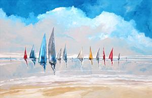 Boats IV by Stuart Roy