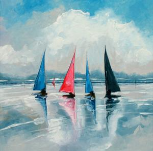 Three Boats III by Stuart Roy